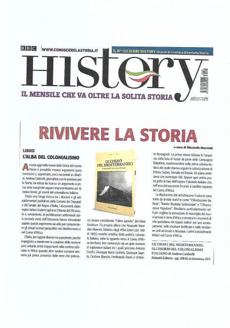 BBC History Italia – 1 Aprile 2021: L'Alba del Colonialismo